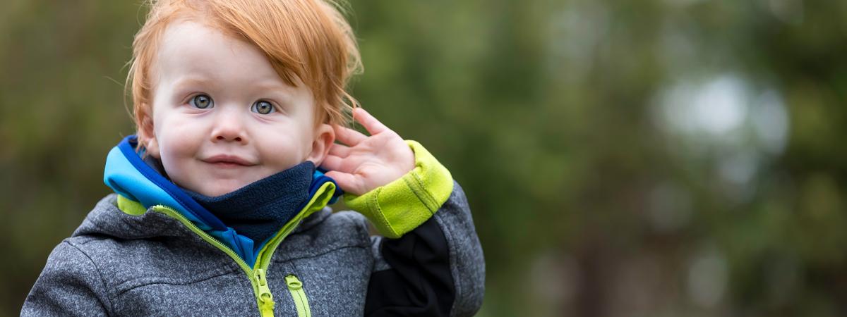 Quanto mais baixo se fala mais as crianças ouvem