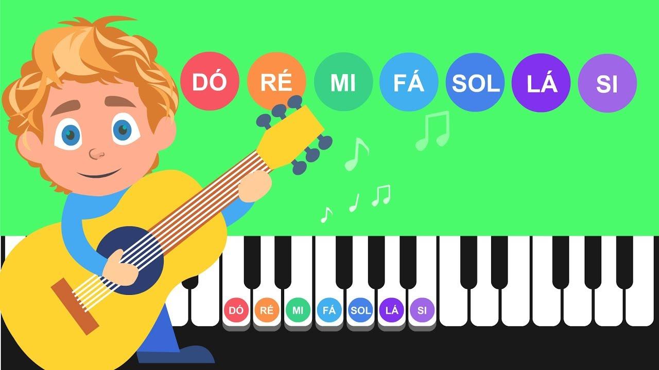 Você conhece as 7 notas musicais?